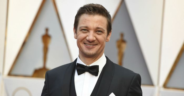 Jeremy Renner reveals that he suffered some major injuries while filming a stunt, but he's taking it really well