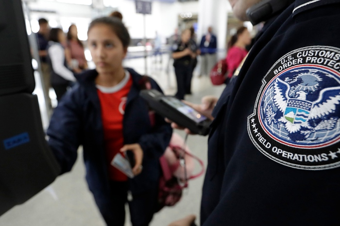 Homeland Security says if you don't want your face in a biometric database, just don't travel