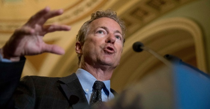 Rand Paul slams Republicans for voting against his amendment to cut $43 billion in spending