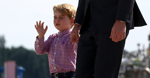 In honor of his fourth birthday, Prince George had a precious new portrait taken