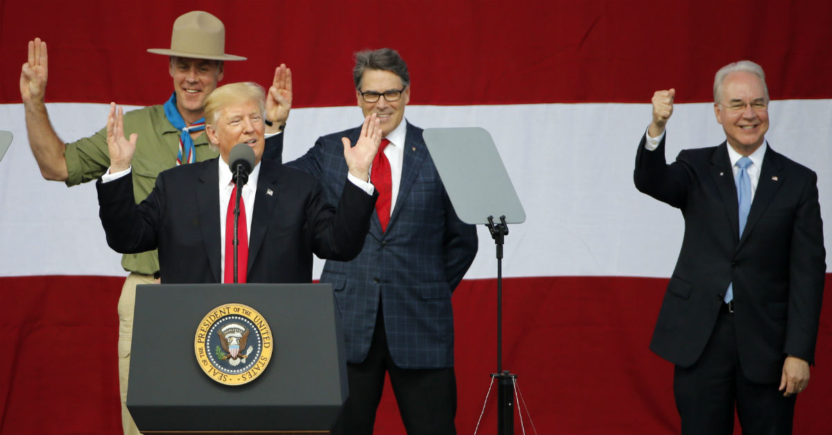 Donald Trump's speech to the Boy Scouts of America evoked plenty of responses