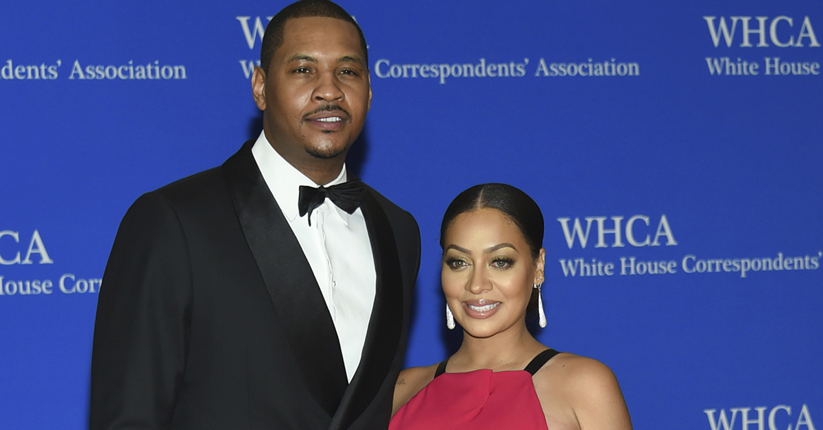 La La Anthony teases fans about a the possibility of a reconciliation with estranged husband Carmelo Anthony