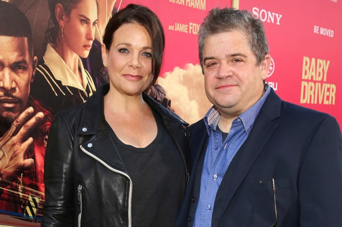 "Patton Oswalt says proposing to Meredith Salenger was an easy decision, and marrying her was a ""no-brainer"""