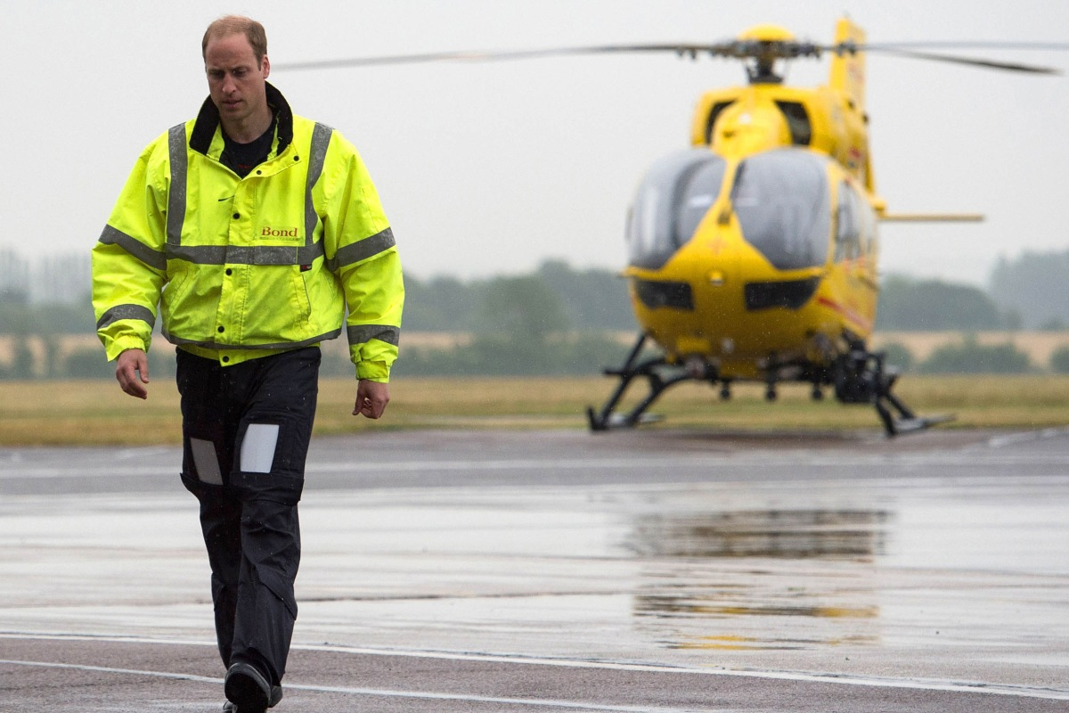 With his royal duties piling up, Prince William just made a big announcement about his career as an air ambulance pilot