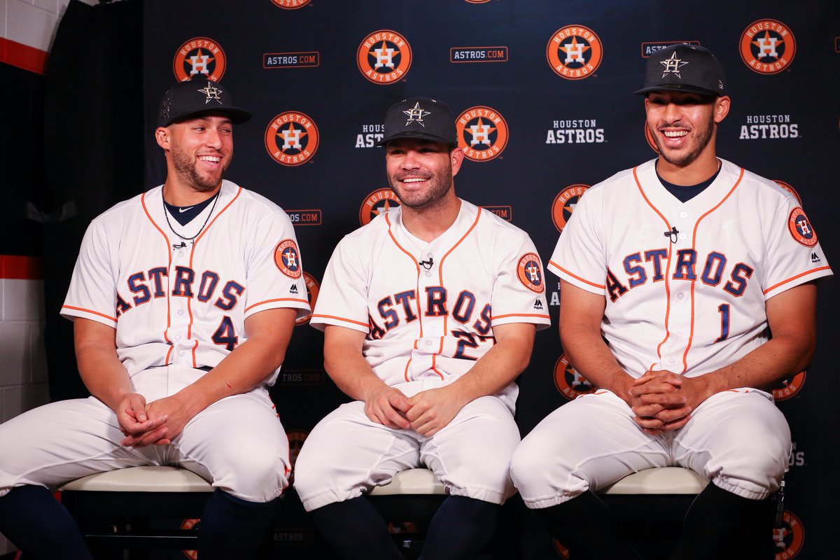 Five Houston Astros are headed to the All-Star Game