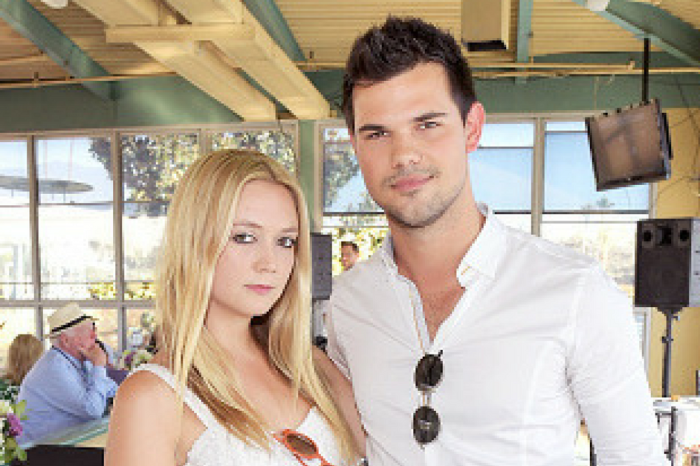 """Billie Lourd and Taylor Lautner reportedly split up, but """"are still friendly"""""""
