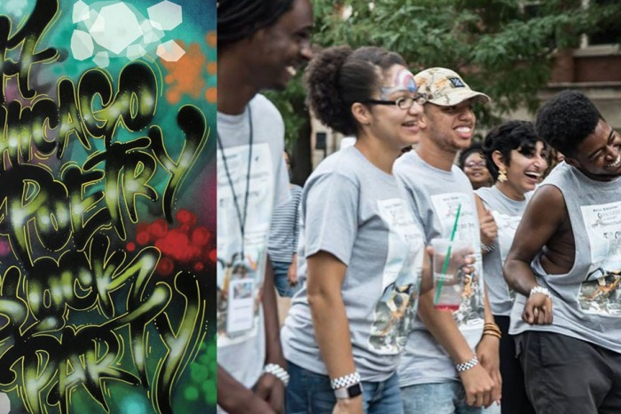 Poets take to the streets for the second annual Poetry Block Party
