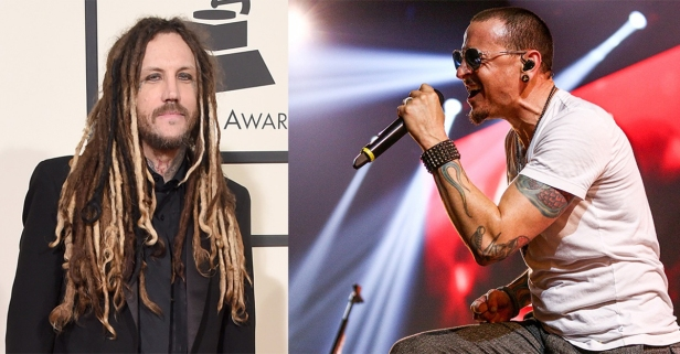 """A fellow rock star criticized """"cowardly"""" Chester Bennington mere hours after his suicide"""