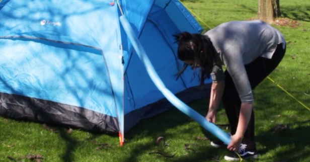 Turn your backyard campout into a comfortable palace with these creative hacks