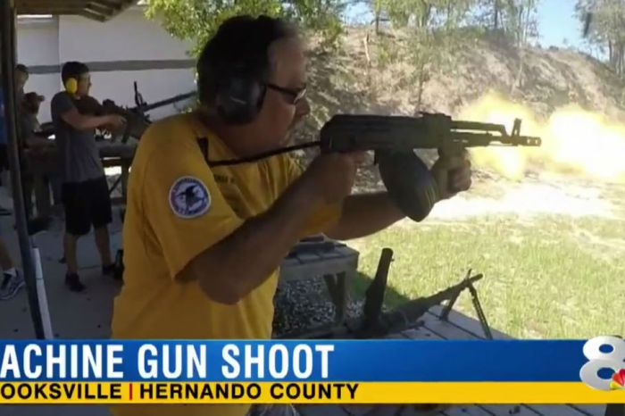 Watch these guys celebrate America the best way possible: breaking out machine guns and firing all day long