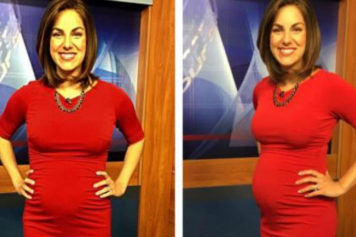 "After a viewer called her pregnancy ""disgusting,"" this newswoman fired back"