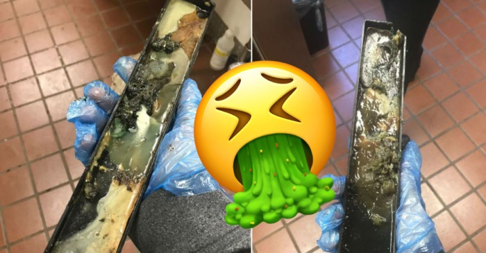 McDonald's Worker Posts Pictures of Just How Gross the McFlurry Machine Can Get