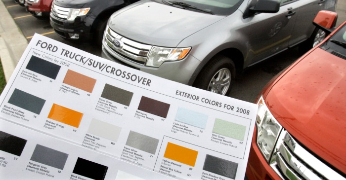 Painting a car is a more complex process than you may think