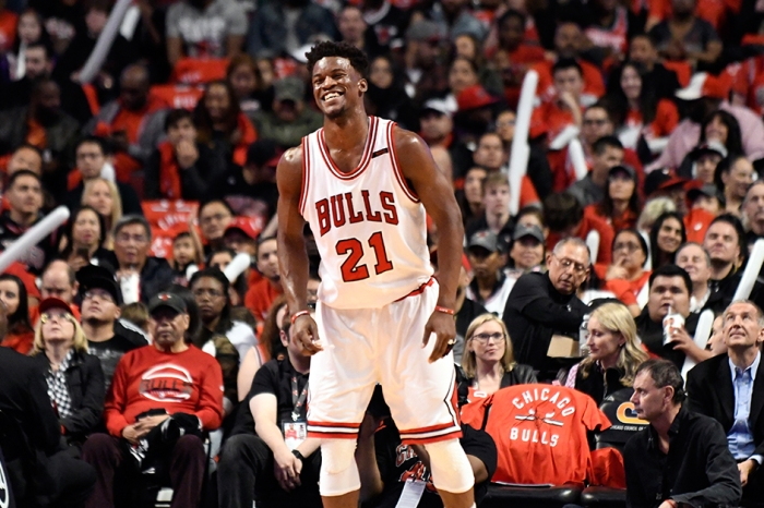 Because he's a gem and model NBA player, Jimmy Butler treated Bulls staffers to a final farewell dinner Sunday