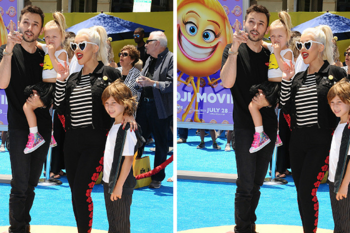 Christina Aguilera's young son Max filled in for her at a rehearsal and totally nailed it