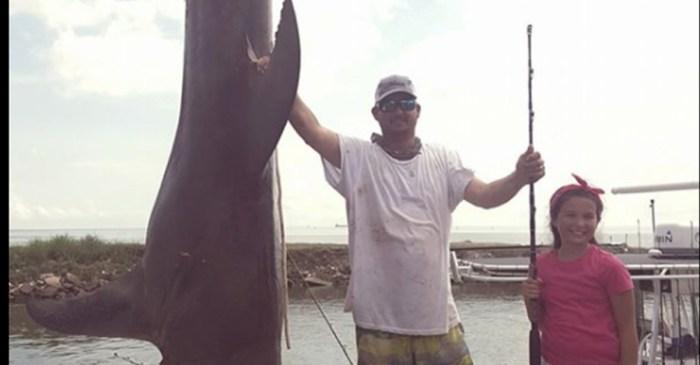 Texas City angler reels in massive, record-breaking shark