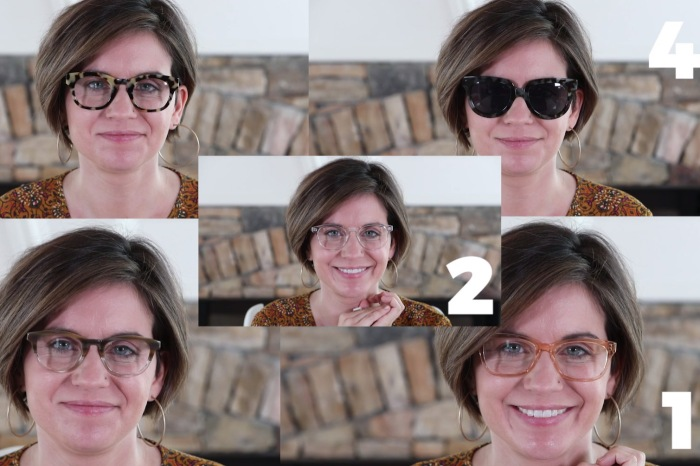 She wants new glasses and needs your help to pick out the perfect pair