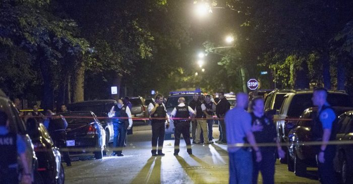 A drive-by shooting at West Side restaurant leaves 1 injured and 1 dead
