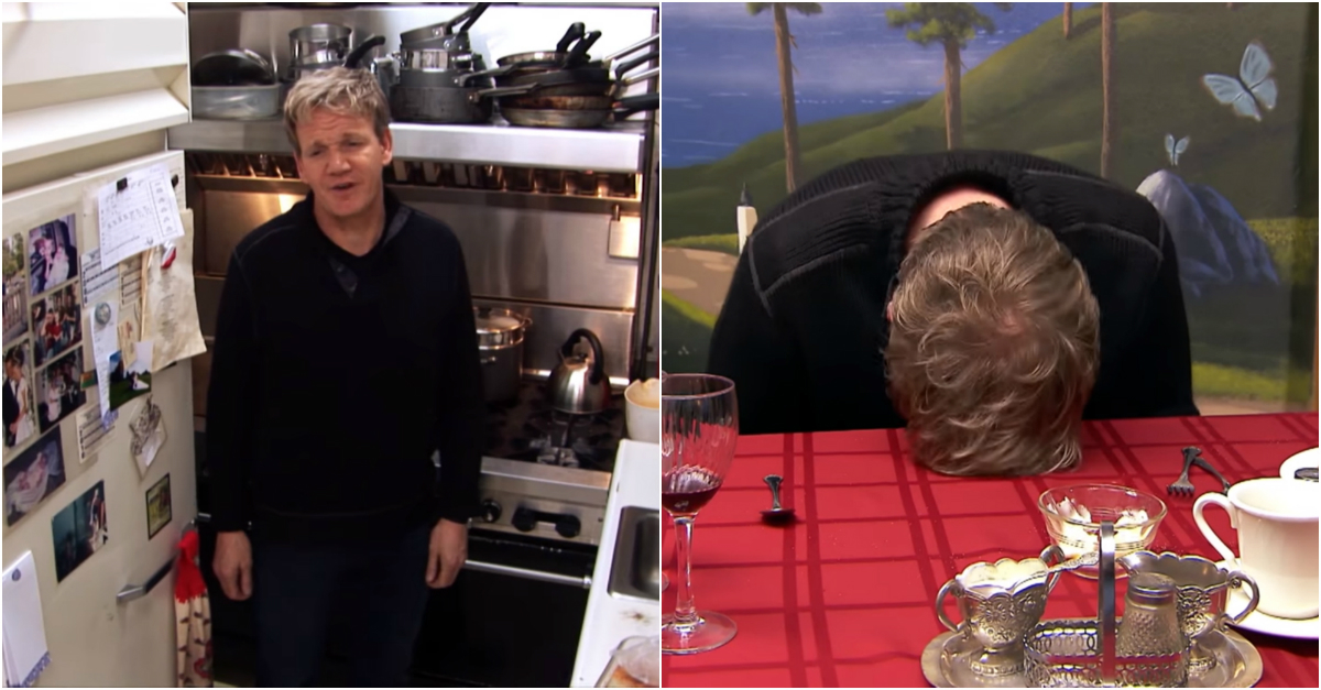 This clip of Gordon Ramsay flipping out at an incompetent chef who can't even cook an egg is just as brilliant as it sounds