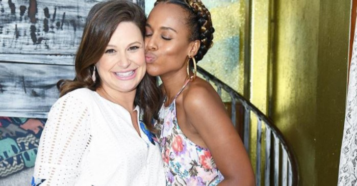 """""""Scandal"""" fans are going to love the sweet pic Kerry Washington posted from her co-star's adorable baby shower"""
