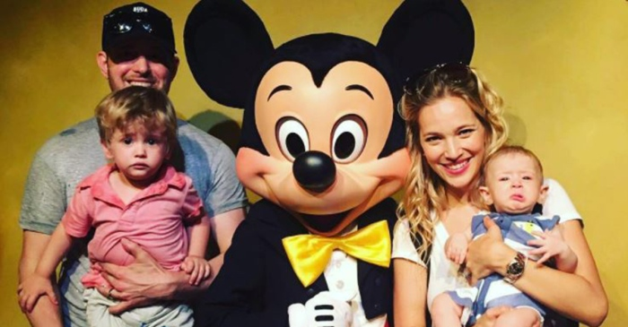 Michael Bublé's wife Luisana Lopilato shares a photo of their son Noah as he recovers from cancer treatment