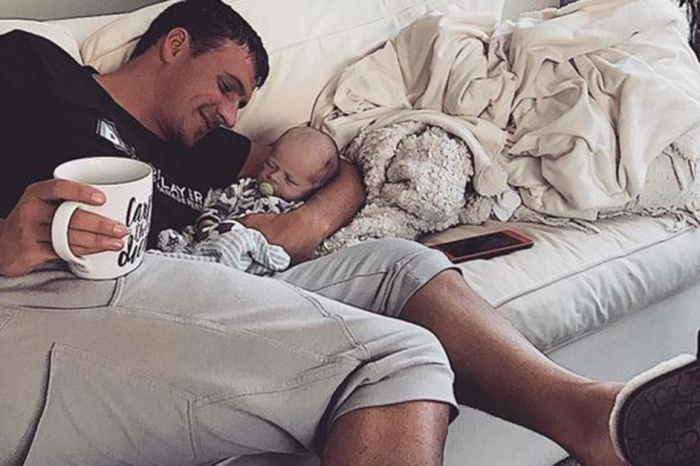 Ryan Lochte makes a vow in his newborn son's honor as his suspension over the Rio incident is lifted