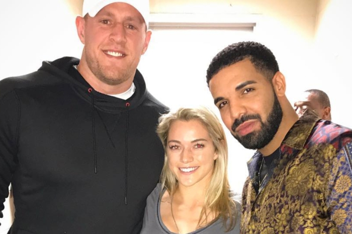 Drake and J.J. Watt show Houston pride with appearance at Manchester Derby