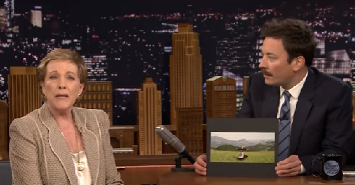 """Julie Andrews reveals how tricky the most famous scene from """"The Sound of Music"""" was to film"""