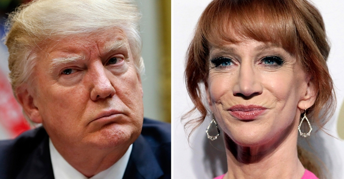 Kathy Griffin now has a theory that one tweet from President Trump wrecked her career