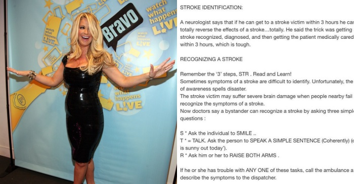 Kim Zolciak-Biermann posted an important message about what to do when someone's having a stroke