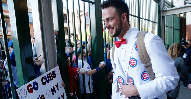 Chicago Cubs' Kris Bryant needs your help to get to the All-Star Game