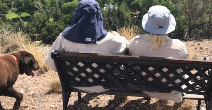 Meghan McCain just shared a touching picture of her dad on a hike that's getting all the right responses