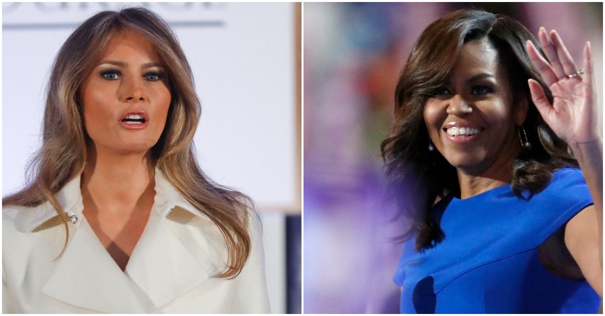 Melania Trump accused of copying Michelle Obama…again