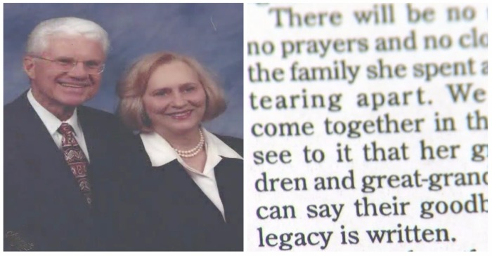 "Brutal Obituary for Elderly Mom Written by ""My Sisters"" Devastated Her Surviving Family"