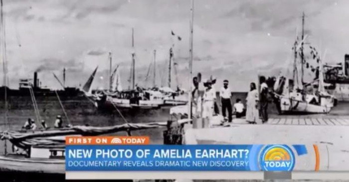 Newly uncovered photo shows Amelia Earhart may have survived her infamous plane crash