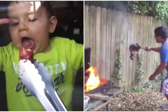 Learn from the people in this hilarious compilation what not to do during a barbecue
