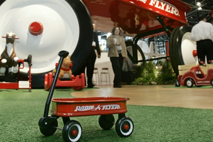 The Radio Flyer Wagon that you made memories on was made in Chicago 100 years ago