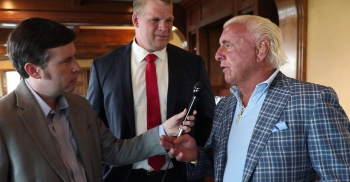 "Ric Flair gives a heartfelt talk about his friend Glenn ""Kane"" Jacobs"