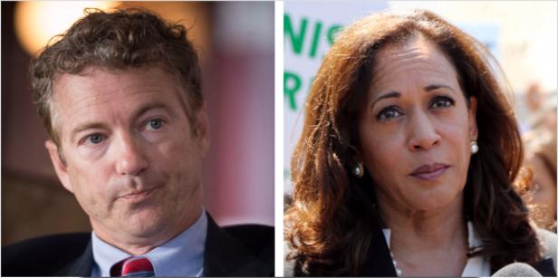Republican Senator Rand Paul and Democrat Kamala Harris are teaming up to seek bail reform