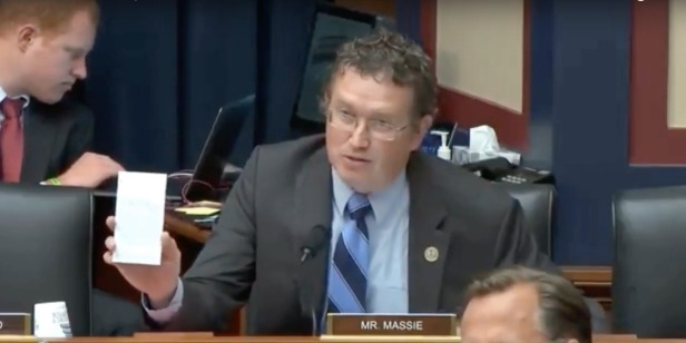Rep. Thomas Massie uses congressional speaking time to praise Young Americans for Liberty's fight for free speech