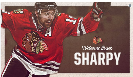 The Sharpest thing on ice is finally back home in Chicago, and the city could not be more thrilled