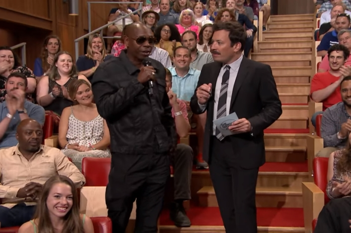 "Dave Chappelle blew Jimmy Fallon's mind when he gatecrashed ""The Tonight Show"""