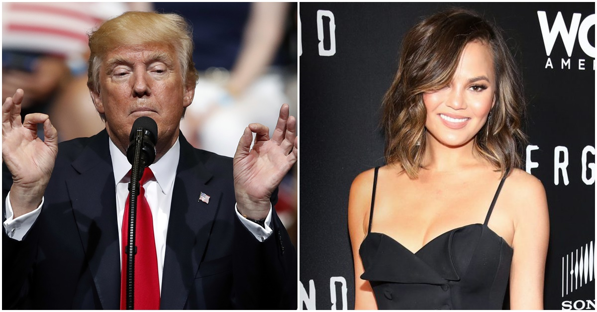 After trolling Donald Trump for years on Twitter, this is the reason Chrissy Teigen finally got blocked