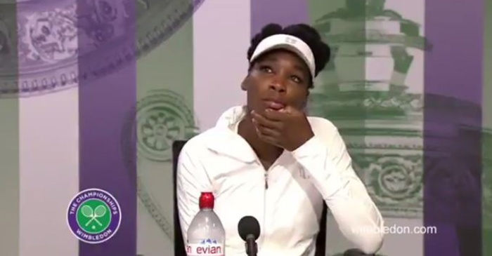 Venus Williams broke down discussing her involvement in the June fatal car crash