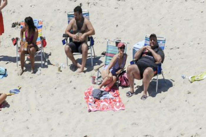 Chris Christie said he didn't get any sun, but the world saw him tanning on the very state beach he shut down