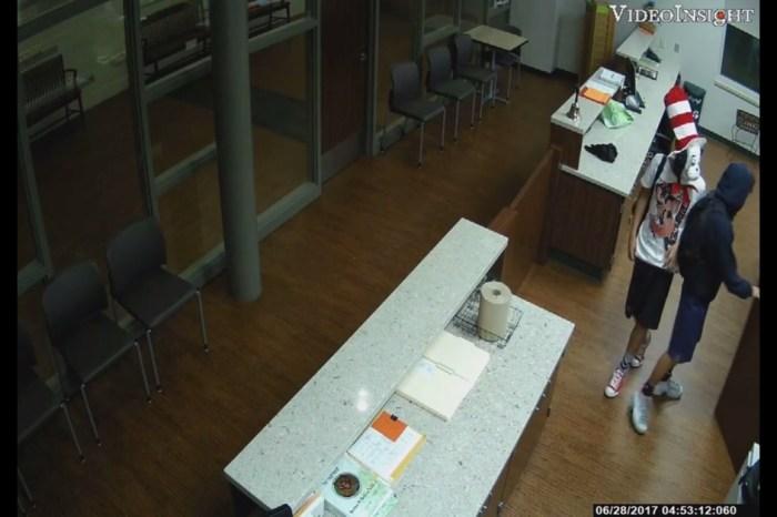 Watch as Cat in the Hat breaks into Houston area school