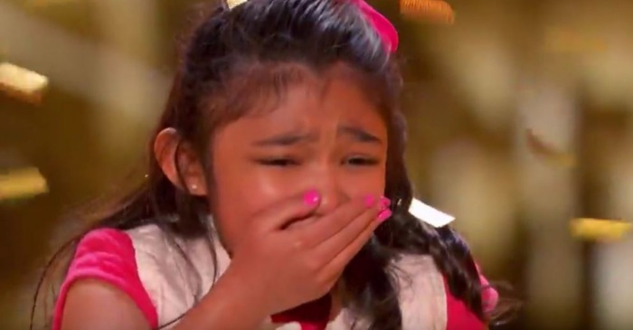 """America's Got Talent"" Judges Award 9-Year-Old Kidney Transplant Survivor with Golden Buzzer"