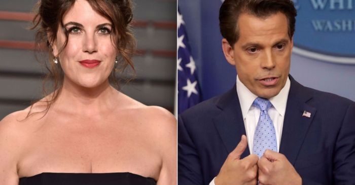 Monica Lewinsky had a simple response when Anthony Scaramucci essentially compared himself to her