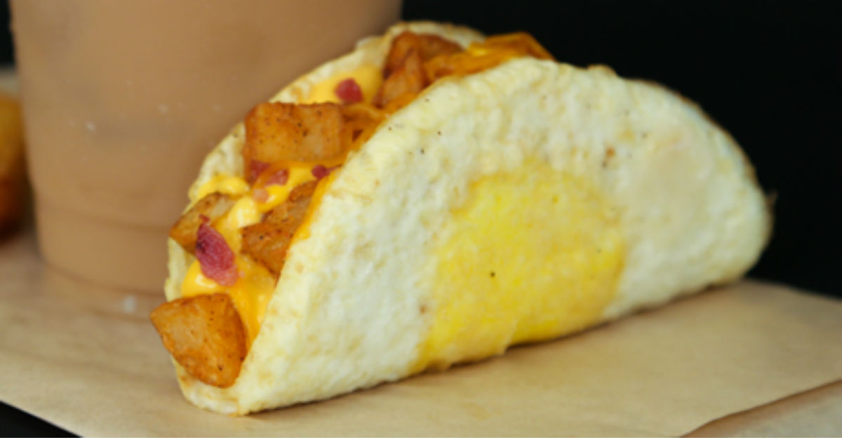 Taco Bell goes the eggs-tra mile with its newest breakfast taco