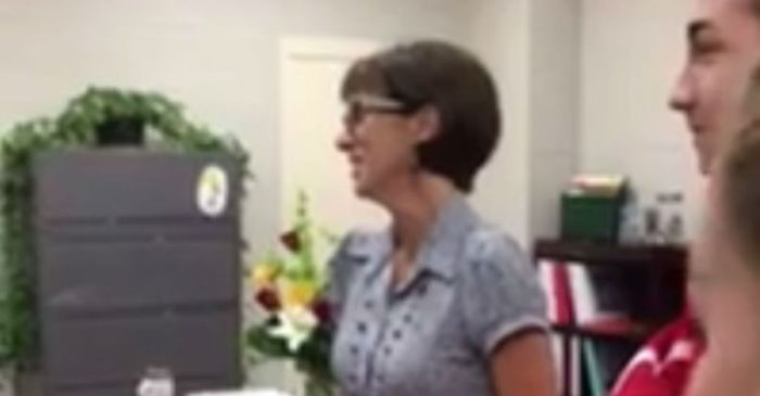A principal apologizes to her students after making an insensitive comment about clothing